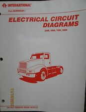 International Navistar Truck 2000-8000 Electrical Circuit Diagrams  Manual 1991