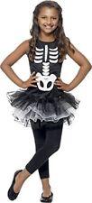Smiffys Costume Carnevale Halloween Tutù Ballerina Scheletro - Bambina