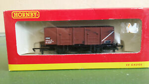 Hornby OO gauge R6400A 21T BR Mineral Wagon B312249, brown, with load, boxed