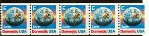 Scott 2279 25¢ E-Rate Earth  P# 1111 MNH Free shipping in the USA!