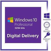 ✅ Microsoft Windows 10 Pro 32/64 Bit System ✅ Mail Versand  30 Sekunden