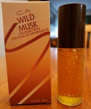 Coty Wild Musk Cologne Spray 44ml/1.5oz Womens Perfume NIB
