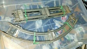 Windup TRACK x4 Straight x4 Curve BANKED TIES All bent PAINT Clockwork USED