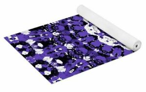 Ultra Violet Mandala Pattern Yoga Mat