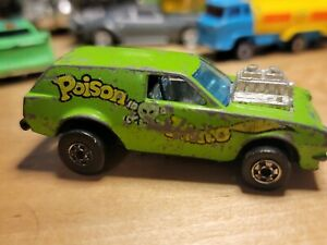 Poison Pinto Green 1976 Hot Wheels Mattel Vintage