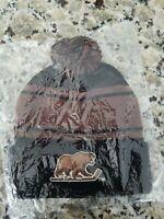 HERSHEY BEARS New  Knit Hat winter cap SGA AHL hockey beanie stripe