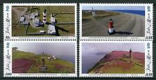 Isla de man IOM 2018 estampillada sin montar o nunca montada Faros punto de Ayre Pantorrilla De Hombre 4v conjunto de sellos