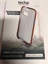 Tech21 Impactology Impact Herringbone Case for HTC One E8 nib