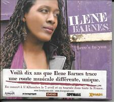CD DIGIPACK 13T ILENE BARNES HERE'S TO YOU NEUF SCELLE FRENCH STICKER 2009