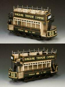 KING & COUNTRY TRAM CAR HK234 STREETS OF OLD HONG KONG LIMITED NEW OOP + BONUS