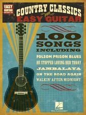 Country Classics for Easy Guitar Sheet Music Easy Guitar with Notes &  000702239