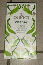 Pukka - Cleanse Tea - 20 Sachets - Organic - Nettle, Fennel, Peppermint