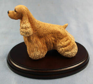 cockerspaniel figur hund Naturecraft hundefigur dog figurine b