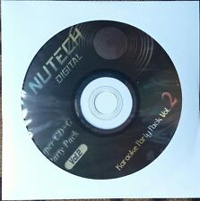 NUTECH KARAOKE #2 SCDG 1234 SONGS COUNTRY ROCK OLDIES POP MULTIPLEX *2018 SALE*