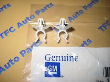 2 Chevrolet SSR Pontiac Oldsmobile Hood Prop Rod Retainer Clip OEM Genuine GM