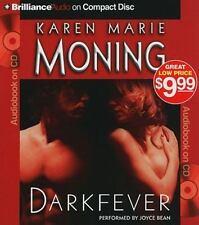 Fever: Darkfever 1 by Karen Marie Moning (2010, CD, Abridged)