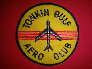 Vietnam War Novelty Patch US Navy TONKIN GULF AERO CLUB