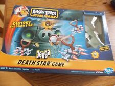 Angry Birds Star Wars Jenga Death Star Game by Hasbro Used