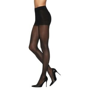 3XL Tamara Black Control Top Support dress Pantyhose Hooters Uniform Sheer
