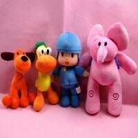 1PCS Pocoyo Plush Stuffed Dolls Pocoyo Loula Elly Pato Animal Kids Birthday Gift