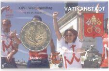 2 Euro Coincard / Infokarte Vatikan 2011 Weltjugendtag