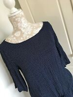 TOAST Tunic Top Or Dress 16 Navy