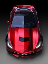 2014 Chevy Corvette C7 (top view) POSTER 24 X 36 INCH Looks Awesome!