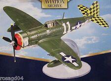 "Corgi P-47D Thunderbolt ""11"" H. Green ""Ace"" 317th FS/325th FG Celone Italy 1:72"
