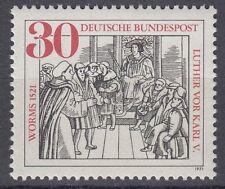 Germany Bund BRD 1971 Mi 669 ** Martin Luther Kaiser Karl V. Wormser Reichstag