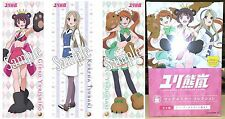Love Bullet Yuri Kuma Arashi Long Poster Collection Box - 8 Posters Licensed New