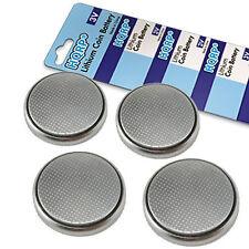 4x HQRP Pilas de Botón CR2450 3V para Nova Max Monitor de Glucosa en la Sangre
