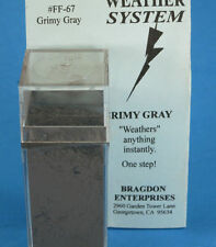 Bragdon Weather System 67  2oz. Large Weathering Color Grimy Grey