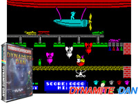 Sinclair ZX Spectrum 48K Game - DYNAMITE DAN - Mirrorsoft - Tested & Working