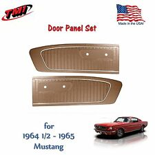 Palomino Door Panels for 1964 1965 Mustang by TMI - Made in the USA  In Stock