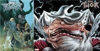 King Thor #1 First Print & Wraparound Single or Set Marvel 2019