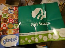 "Girl Scouts 2003 Tic Tac Dough Cookie Training Game 24x36"" Poster CELEBRATE Girl"