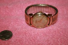 Vintage Mathey Tissot 14K Yellow Gold Automatic 17 Jewels Watch Working