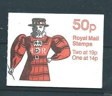 Gb Sgfb51 1988 50p Yeoman Of The Guard Booklet