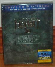 EL HOBBIT LA DESOLACION DE SMAUG EDICION EXTENDIDA 2 BLU-RAY 3D+3 BLU-RAY NUEVO
