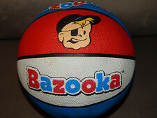 "2005 Topps Good Stuff Bazooka Joe Bubble Gum Rubber Basketball 9"" Rare Nos"