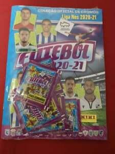 Panini Futebol Liga NOS 2020-21 Starter Pack 2x Empty Album + 8x Promo packs