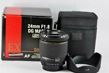 Sigma 24mm f/1.8 Aspherical EX DG Lens Nikon fit Made in Japan Boxed