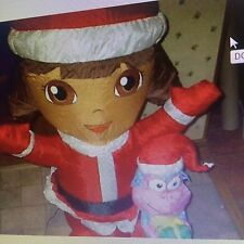 Dora Explorer Xmas Inflatable With Boots, 4 Ft Tall New In Box