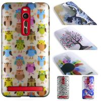 for Asus Zenfone 2 (5.5)  Case Design Hard Slim Fit Style Phone Back Cover