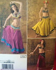 Simplicity 2158 BELLY DANCER sz 14-22 Costume Sewing Pattern