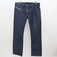 Diesel Zatiny Jeans Regular Bootcut Mens 32/34 Blue Denim 100% Cotton Button Fly