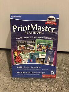 Encore - PrintMaster v8 Platinum - Mac|Windows PC Craft - 4800 Project Templates