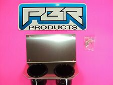 Yamaha Rhino Center Dash Mounting Plate Dual Cup Drink Holder Aluminum. WOW