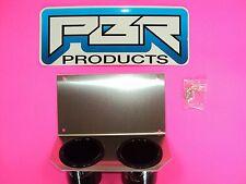 Yamaha Rhino Center Dash Mounting Plate Dual Cup Drink Holder Aluminum. WOW