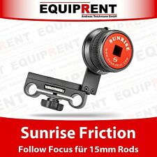 SUNRISE EA-01 Friction Follow Focus / für 15mm Rods / spielfrei! (EQ065)